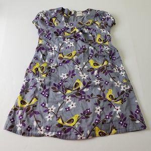 Boden Floral and Bird Print Dress